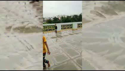 KIDS PLAYING IN RAIN ☔