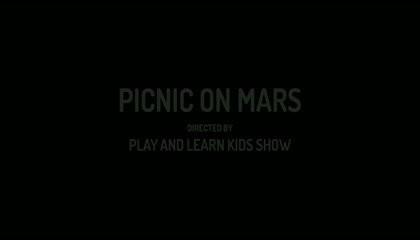 PICNIC ON MARS - SHORT CARTOON STORY FOR KIDS