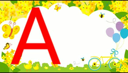 "TEN WORDS STARTING FROM LETTER ""A"" FOR KIDS  PRESCHOOL KIDS LEARNING"