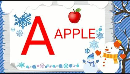 "LET'S LEARN ""ABC"" FOR KIDS  KIDS LEARNING ALPHABETS PRESCHOOL EDUCATION"