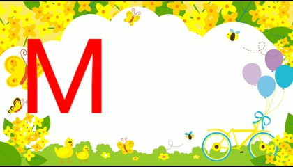 """TEN WORDS STARTING FROM LETTER """"M""""  ENGLISH VOCABULARY EDUCATION FOR KIDS"""