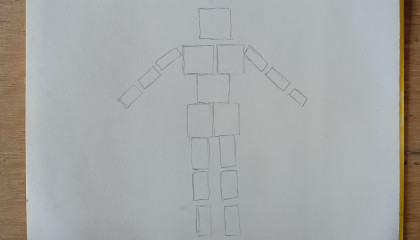 How to Human Body   Block thqaunic    Art Maker