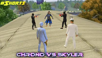 Free Fire 🔥 Best time CR7 vs Skyler