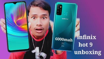infinix hot 9 unboxing in hindi  infinix hot 9 unboxing  infinix hot 9 unboxing and review