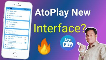 AtoPlay new interface  AtoPlay new UI design  AtoPlay new update  atoplay new update play store