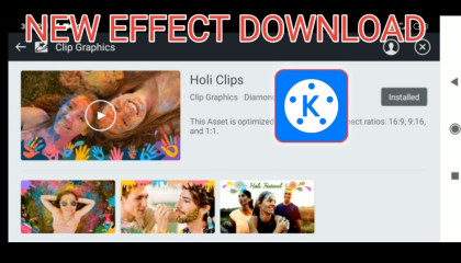 Happy holi free effect download   kinemaster effects free download   kinemaster effects download
