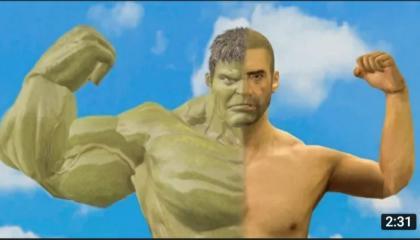 PUBG Animation _ Hulk Noob Man (SFM ANIMATION) pubg only gaming video pubg mobile battleground