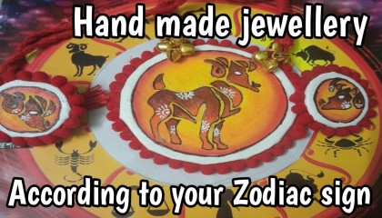 According To Your Zodiac Sign    Hand Made Fabric Jewellery    Aries