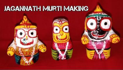 Jagannath Murti Making  Rath Yatra Special