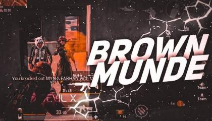 Brown Munde - Ap Dhillon ❤️ | PUBG MOBILE MONTAGE | 2 FINGER