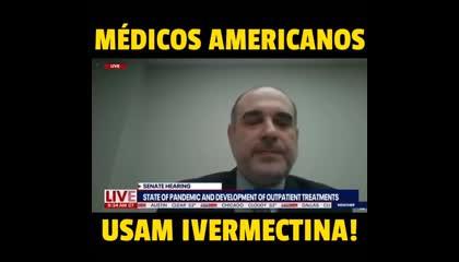 Médicos americanos usam ivermectina