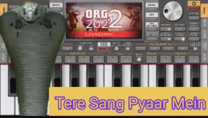 Tere Sang Pyaar Mein Song On Piano  2021