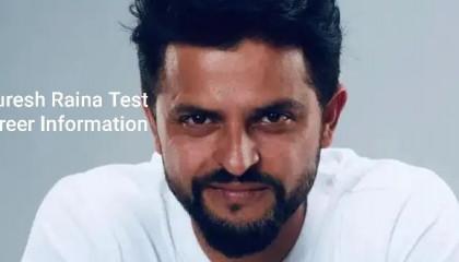 Suresh Raina Test Career Information  Suresh Raina Test Records   Cricketer Suresh Raina Test Ki Jankari