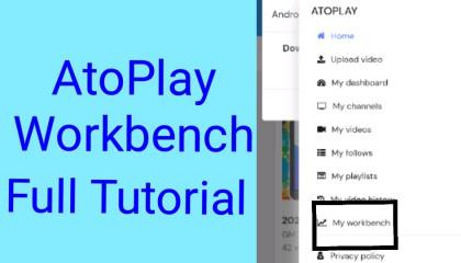 AtoPlay Deshboard I How To Used AtoPlay Deshboard I AtoPlay Workbench Fu Tutorial I Atul Gupta Technical
