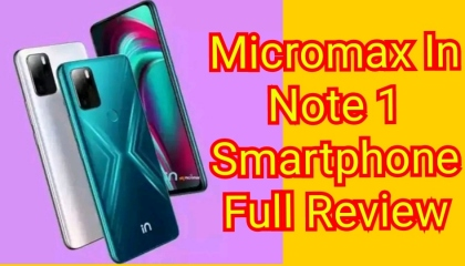 Micromax In Note 1 Full Review I Micromax In Note 1 Full Information