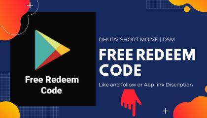 इस ऐप से Free Redeem code ऐप से पा  सकते हैं___ Link in Discription ⬇️😀