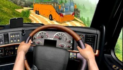 off-road bus Transport game__Link in Discription