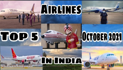 India's top five airlines providing the best customer service 2021