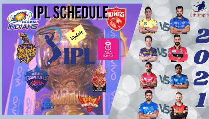 VIVO IPL 2021 UAE  BCCI Announced IPL 2021 Schedule Time Table  19th September to 15th October