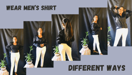 how to wear men's shirt in different ways