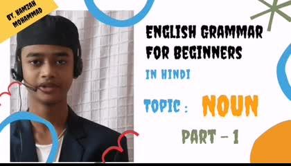 English Grammar For Beginners - Noun