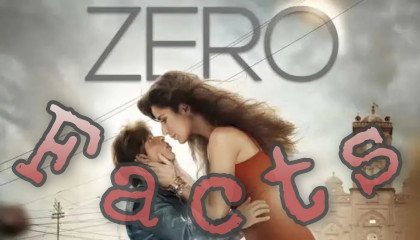 Zero Movie Facts !! CineSuvo