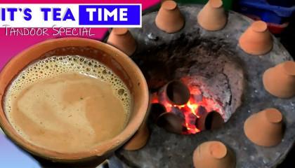 Tea Corner's Tasty Tandoori Chai ☕  Near Ashok Raj Path  DFT