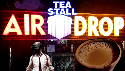 Air Drop Tea Stall  PUBG Momo  Rajendra Nagar Patna Pubgfood