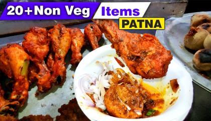 Chicken Litti 🍗  Patna City  DFT