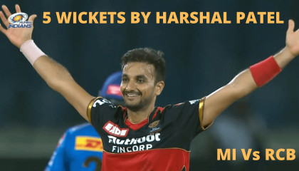 Harshal Patel 5 wickets in IPL 2021