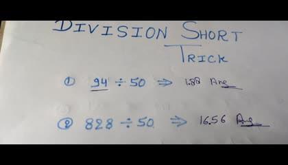 Division Short Trick
