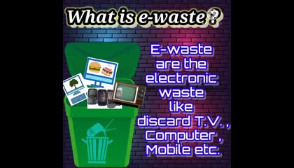 What is e-waste ? How to manage e-waste ?