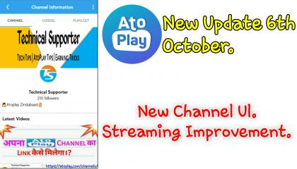 Atoplay New Update 6th October. WoW.