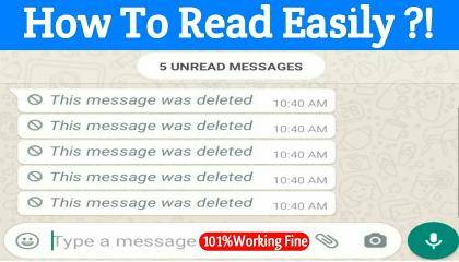 How To Read Deleted Whatsapp Messages in 2021 🤯🤯 Recover Deleted Whatsapp Message 😍😍