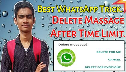 How To (Delete For Everyone) WhatsApp Massage After Time Limit.