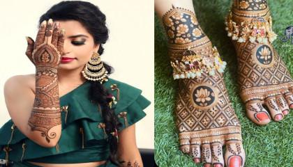 Mehendi designs bridal 👰 full hand & legs ...Hina style 🦋 fashion & beauty content creator ...🎶