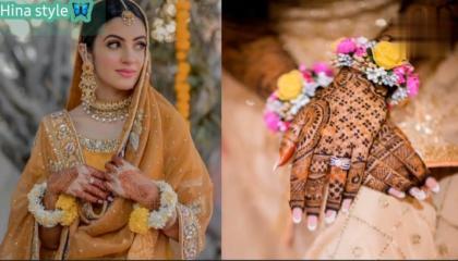 Beautiful ❣️ flowers jewellery designs 🌻🌹Mehandi & lehanga designs also 2021 top trending ❤️