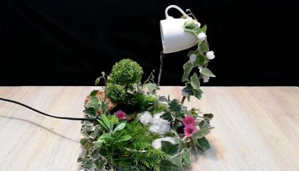 How to make beautiful cup waterfall fauntain  DIY