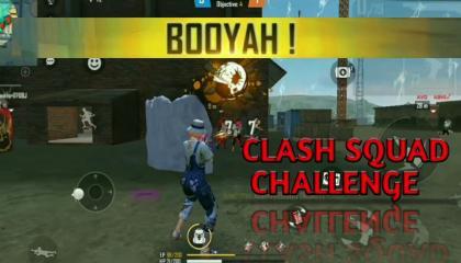 Clash Squad challenge with random players. OP Garena FreeFire. Risk Gamer