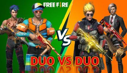 Duo Vs Duo custom match. Garena FreeFire