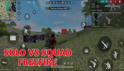 Solo vs Squad op Match by Risk Gamer
