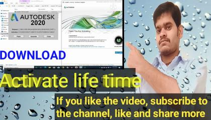 AtoCad 2020 download & life time activate process