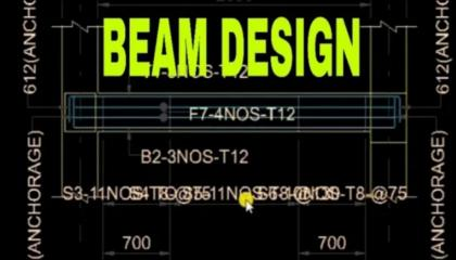 G+2 STORAGE BUILDING BEAM DESIGN WITH STAAD PRO SOFTWARE FULL PROCESS