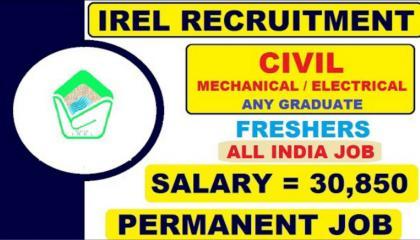 IREL CIVIL ENGINEERING JOB