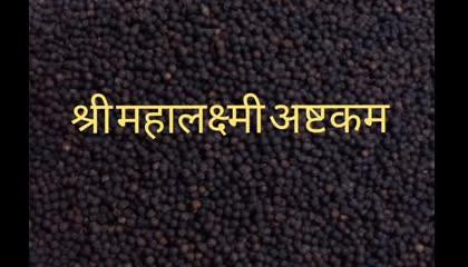 श्री माहालक्ष्मी अष्टकम shri mahalaxmi ashtakam