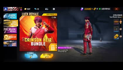 GETTING LUCK ROYAL BUNDLE TRYING OUR LUCK