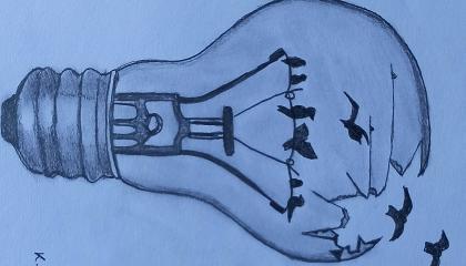 How to Draw light Bulbs  Realistic bulbs drawing