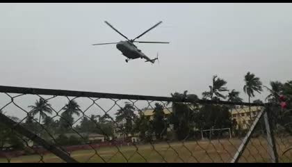 Helecopter Landing