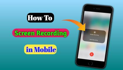 Mobile Screen को record कैसे करे