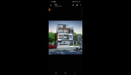 30×50 house front Elevation design